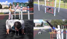 Уличная гимнастика для детей 3-12 лет