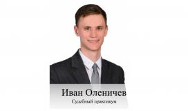 Судебный практикум Оленичев